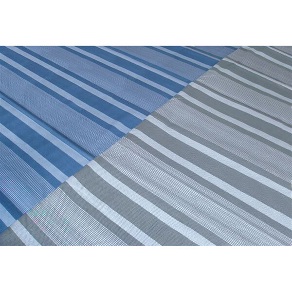Streetwize Capri Outdoor Matting Blue Check 2.5x3.5m