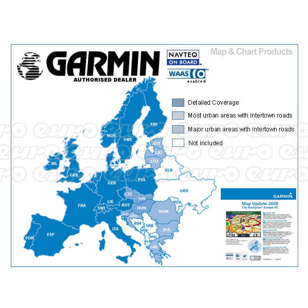 Garmin Memory Card - Full Europe Coverage (SD & Micro SD)