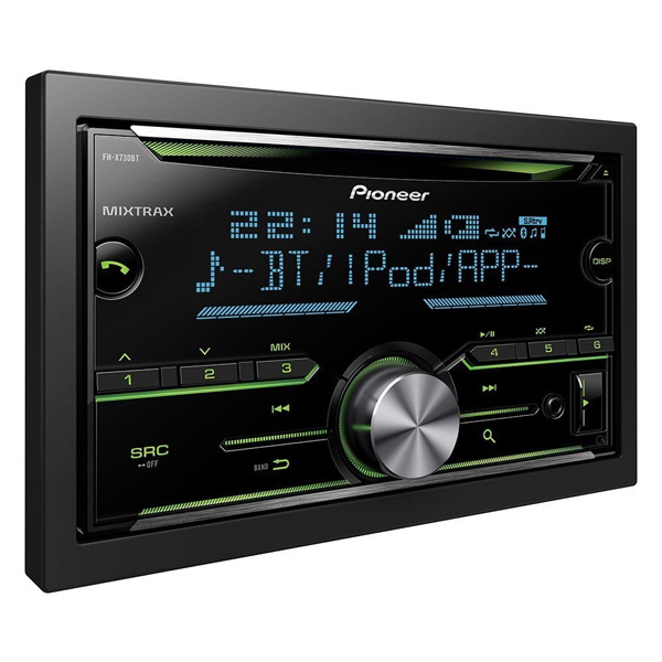 Pioneer FH-X730BT Double Din Head Unit