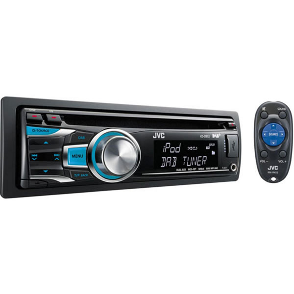 JVC KD-DB52 Digital DAB CD Receiver