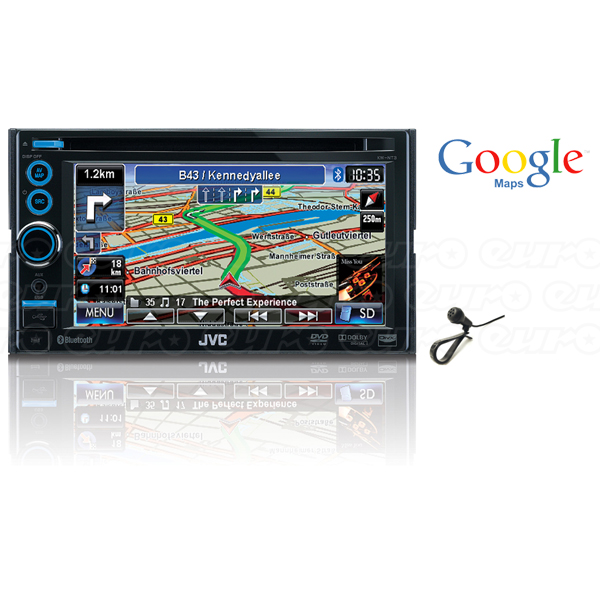 JVC KW-NT30 Double Din DVD & Navigation Unit