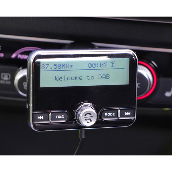 Streetwize In Car DAB Radio Adapter with Bluetooth
