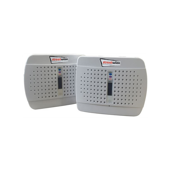 Streetwize Twin Pack Dehumidifier