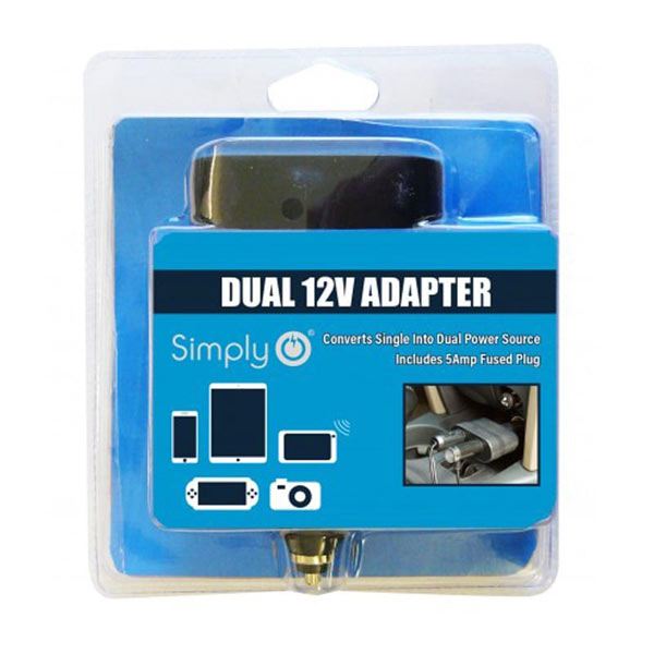 12V Dual Power Adaptor