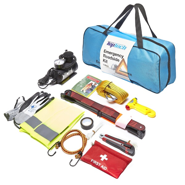 Top Tech 12pc Emergency Roadside Kit