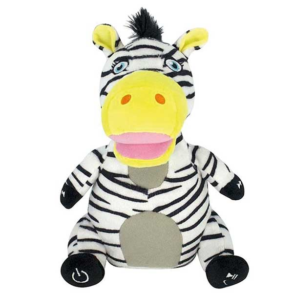 Ziggy Zeleski Zebra - Safari Bluetooth Speaker