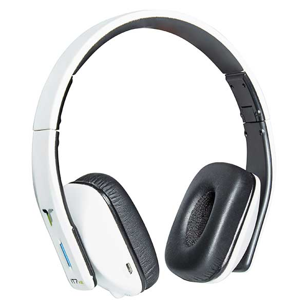 iT7x2 Wireless Bluetooth Headphones - Matt White