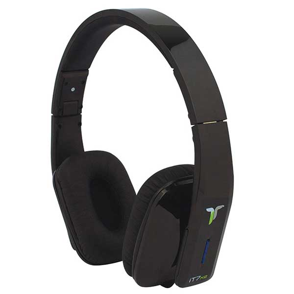 iT7x2 Wireless Bluetooth Headphones - Matt Black