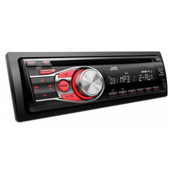 JVC CD Receiver with Dual Aux, Red illumination 2