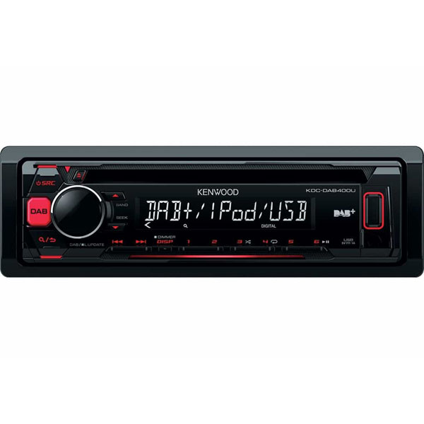 Kenwood WMA/MP3, DAB, USB, iPod Direct, Android Ready