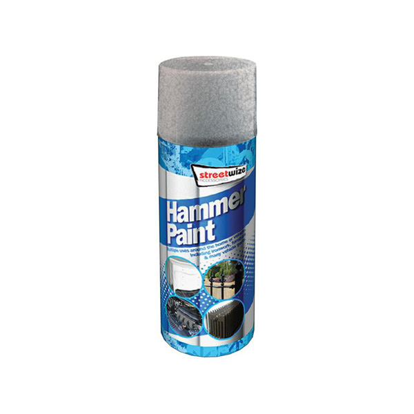 Streetwize Hammer Finish Paint Grey