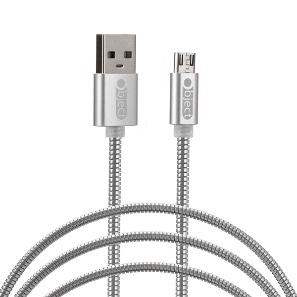 Object Metallic Micro Usb Cable