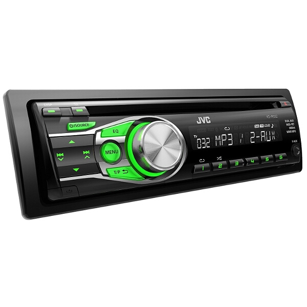 JVC KD-R332 Car Stereo CD Player MP3 AUX