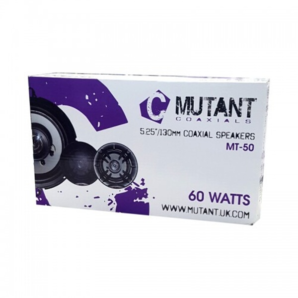 "Mutant M-Series 13CM (5-1/4"") 2 Way Speakers 60W"