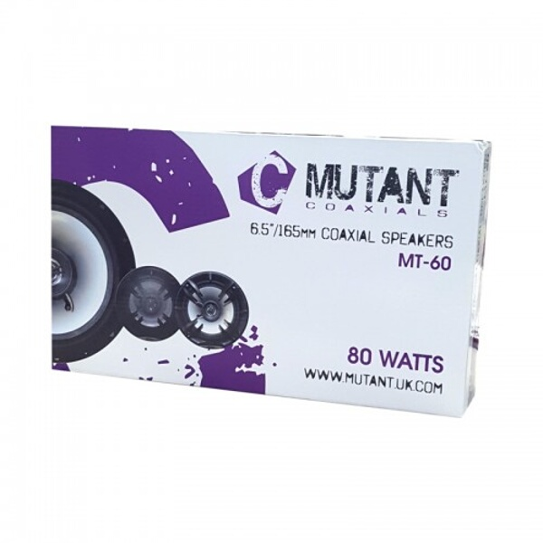 "Mutant M-Series 16CM (6-1/2"") 2 Way Speakers 80W"