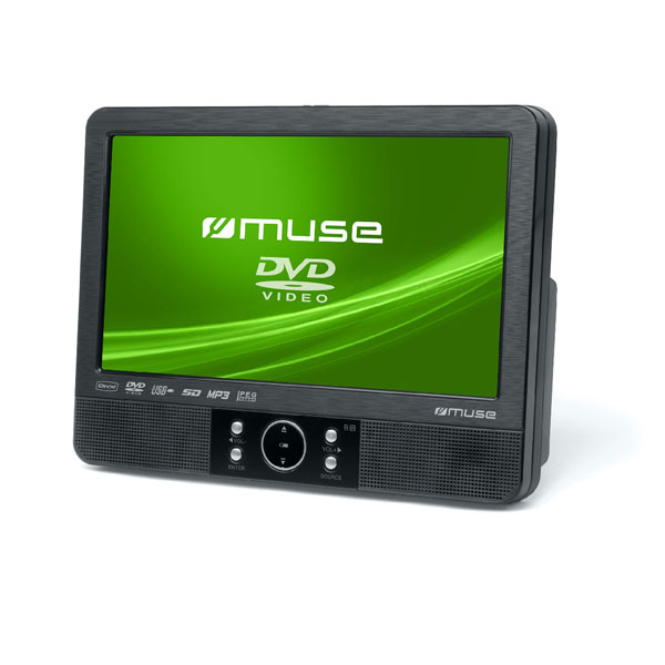 "9"" Tft Lcd Twin Display Car Video Player."