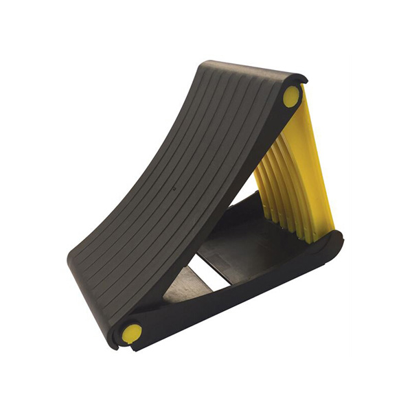 Streetwize Pair of Foldable Wheel Chocks with Spikes