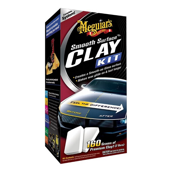 Meguiars Smooth Surface Clay Kit Large