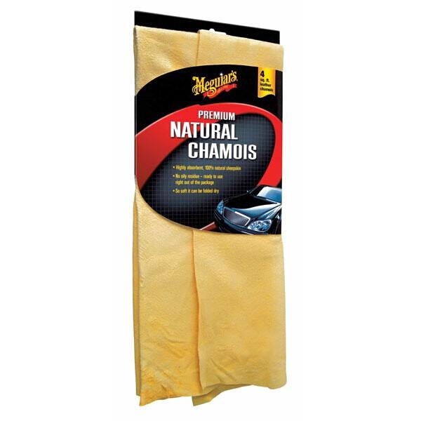 Meguiars Premium Natural Chamois 4sq.ft