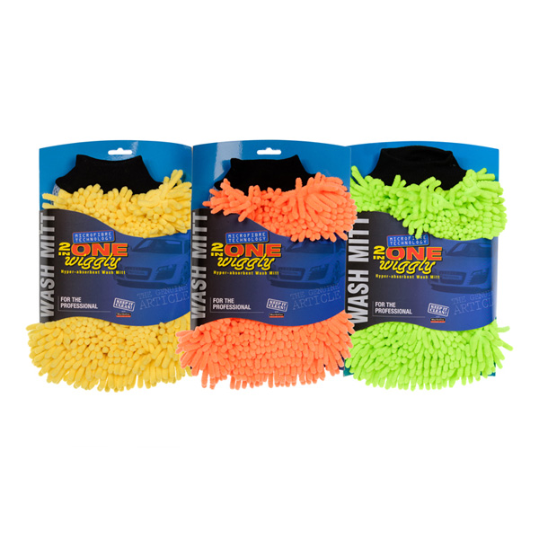 Euro Car Parts 2 In 1 Micro Fibre Wiggly Mitt