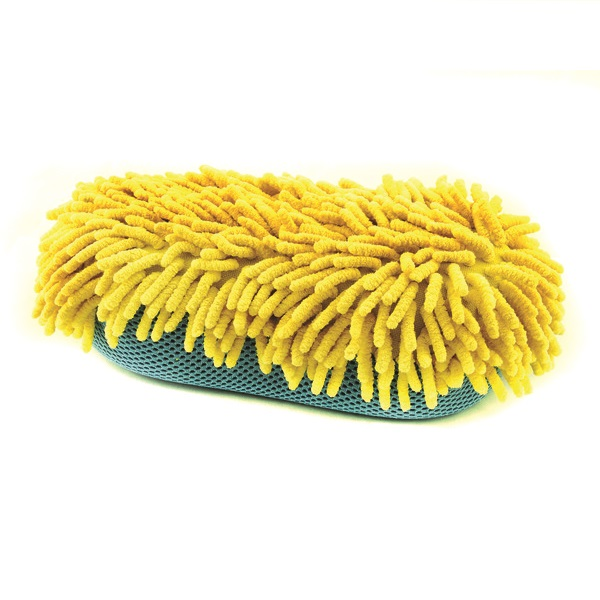 Euro Car Parts 2 In 1 Micro Fibre Wiggly Wash Pad