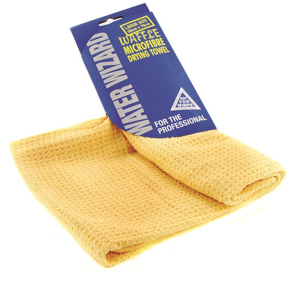 Euro Car Parts Waffle Micro Fibre Drying Towel