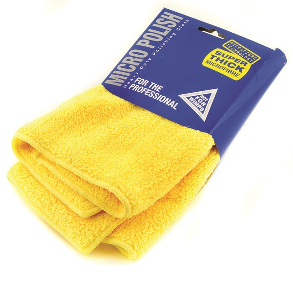 Euro Car Parts Super Thick Micro Fibre Cloth