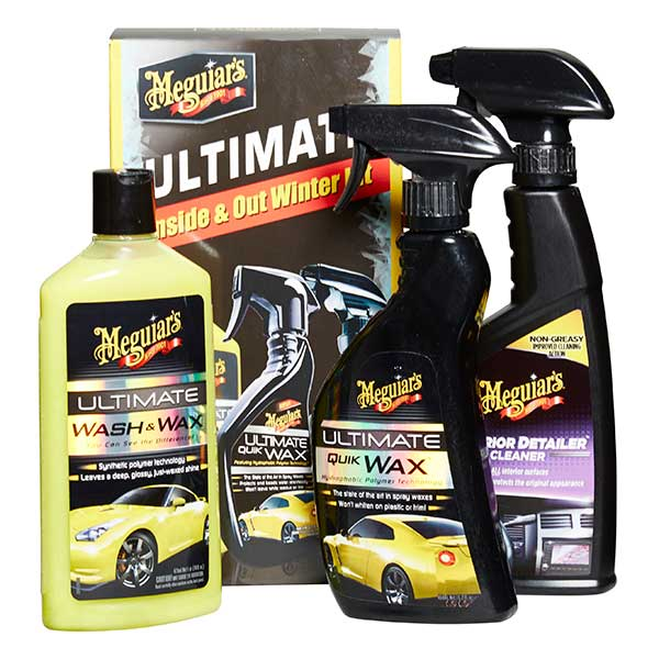 Meguiars Ultimate Inside and Out Winter Kit