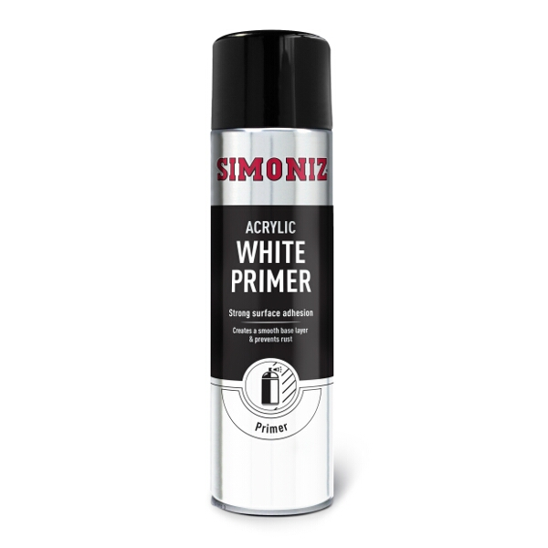 Simoniz White Spray Primer 500ml