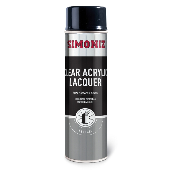Simoniz Clear Spray Lacquer 500ml
