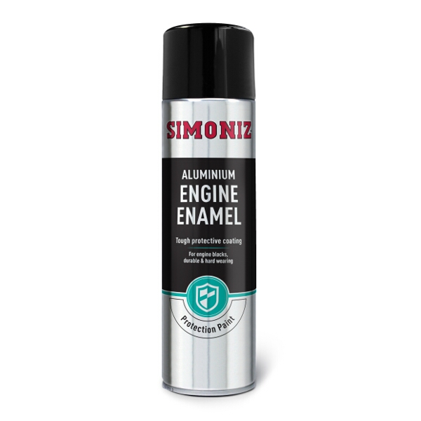 Simoniz Aluminium Engine Enamel Spray Paint 500ml