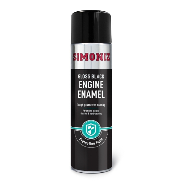Simoniz High Temperature  Black Gloss Engine Enamel 500ml