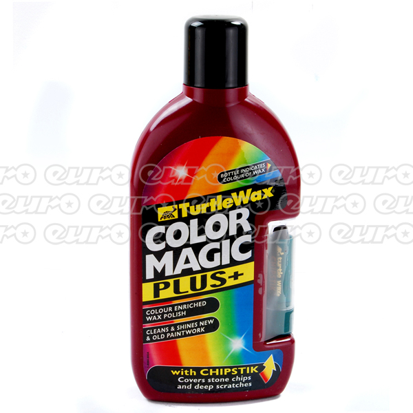 Turtlewax Color Magic Plus 500ml Dark Red