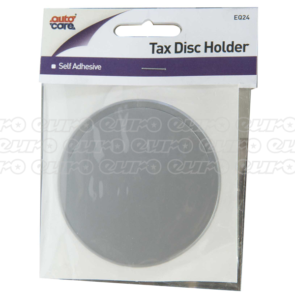 Autocare Adhesive Licence Disc Holder - Various Colours