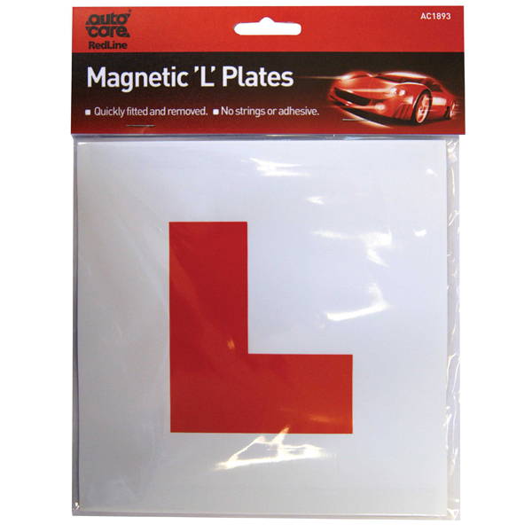 Autocare Magnetic L Plate
