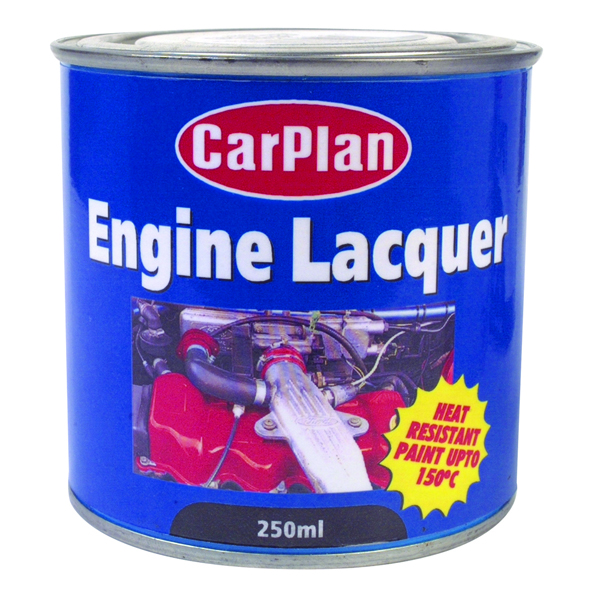 Carplan Engine Lacquer 250ml Gloss Black