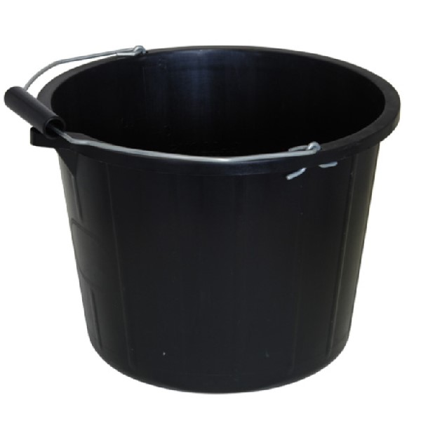ECP Lynwood Black Bucket with Handle