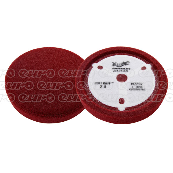 Meguiars Soft Buff 2.0 Foam Cutting Pad - 7""
