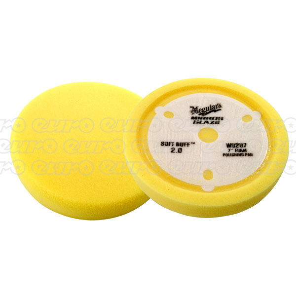 Meguiars Soft Buff 2.0 Foam Polishing Pad -7""