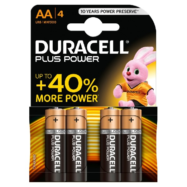 Duracell Duracell AA Battery - 4 Pack