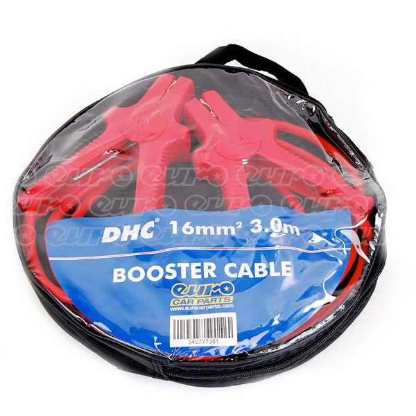Top Tech Booster Cables 16mm - 300 Amp 3.0 mtr