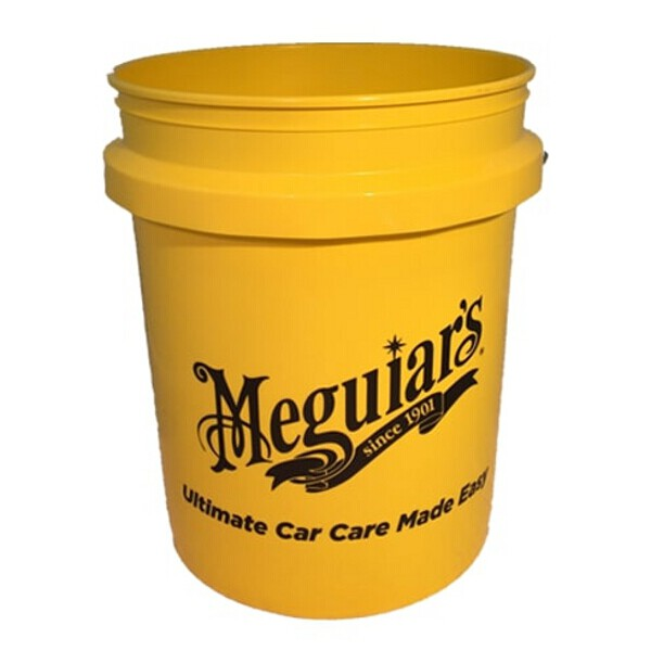 Meguiars Black Bucket for use with Meguiars Grit Guard