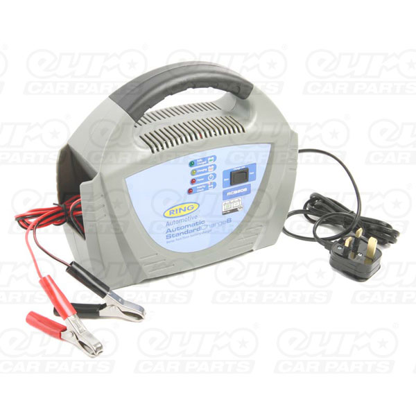 Ring 12v 8amp Charger Plastic - UK
