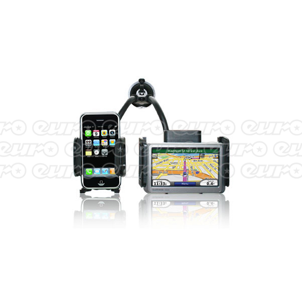 Pama Twin Bracket Mobile and Navigation Holder
