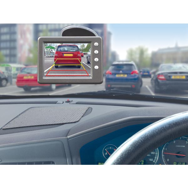 "Streetwize Wireless Reversing Camera System with 3.6"" Screen"