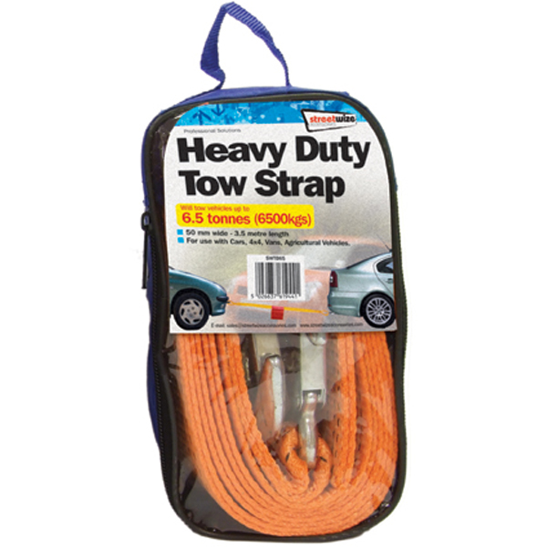 Streetwize 6.5 Tonne Towing Belt
