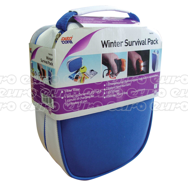 Autocare 6 pc Winter Survival Kit in Hold-All