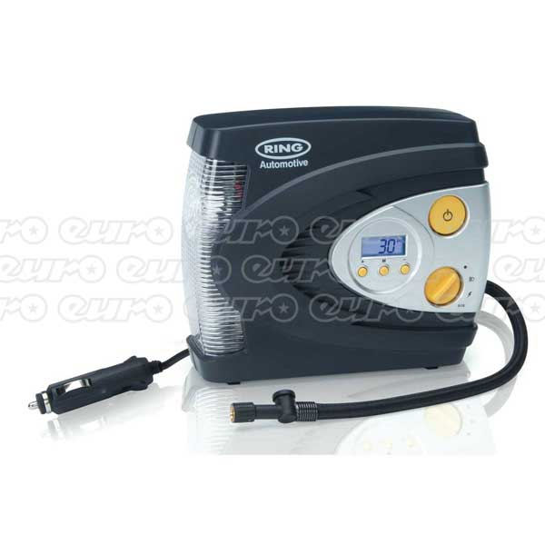 Ring RAC630 - 12V Digital Air Compressor with LED