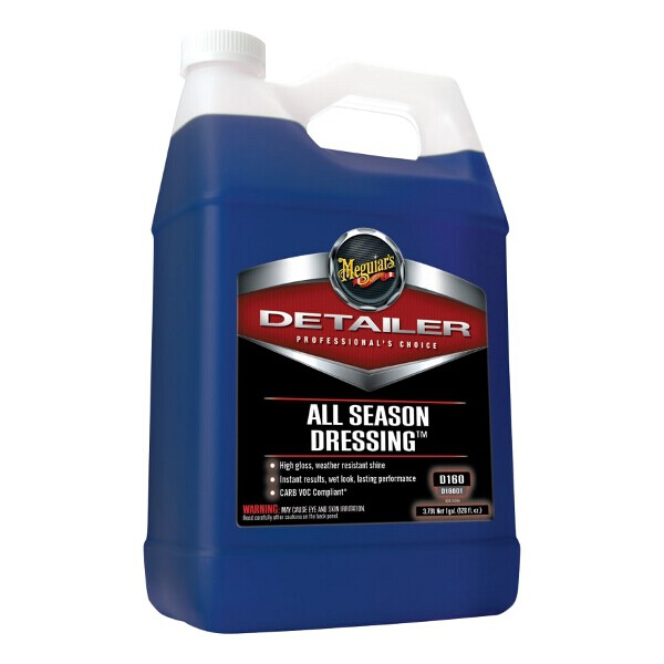 Meguiars Detailer All Season Dressing Concentrated 3.78ltr