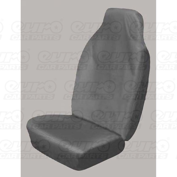Sakura Seat Cover Extra Heavy Duty Car Black High Back Single